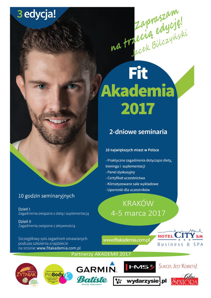 Plakat pierwszego spotkania z cyklu FIT Akademii 2017