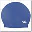 SOLID COLOR Spurt latex swim cap