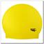SOLID COLOR Spurt latex swim cap