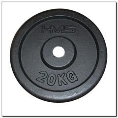 Talerz czarny 20kg HMS
